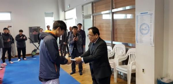 영광군, 제99회 전국체전 출전 선수단 격려-3.jpg