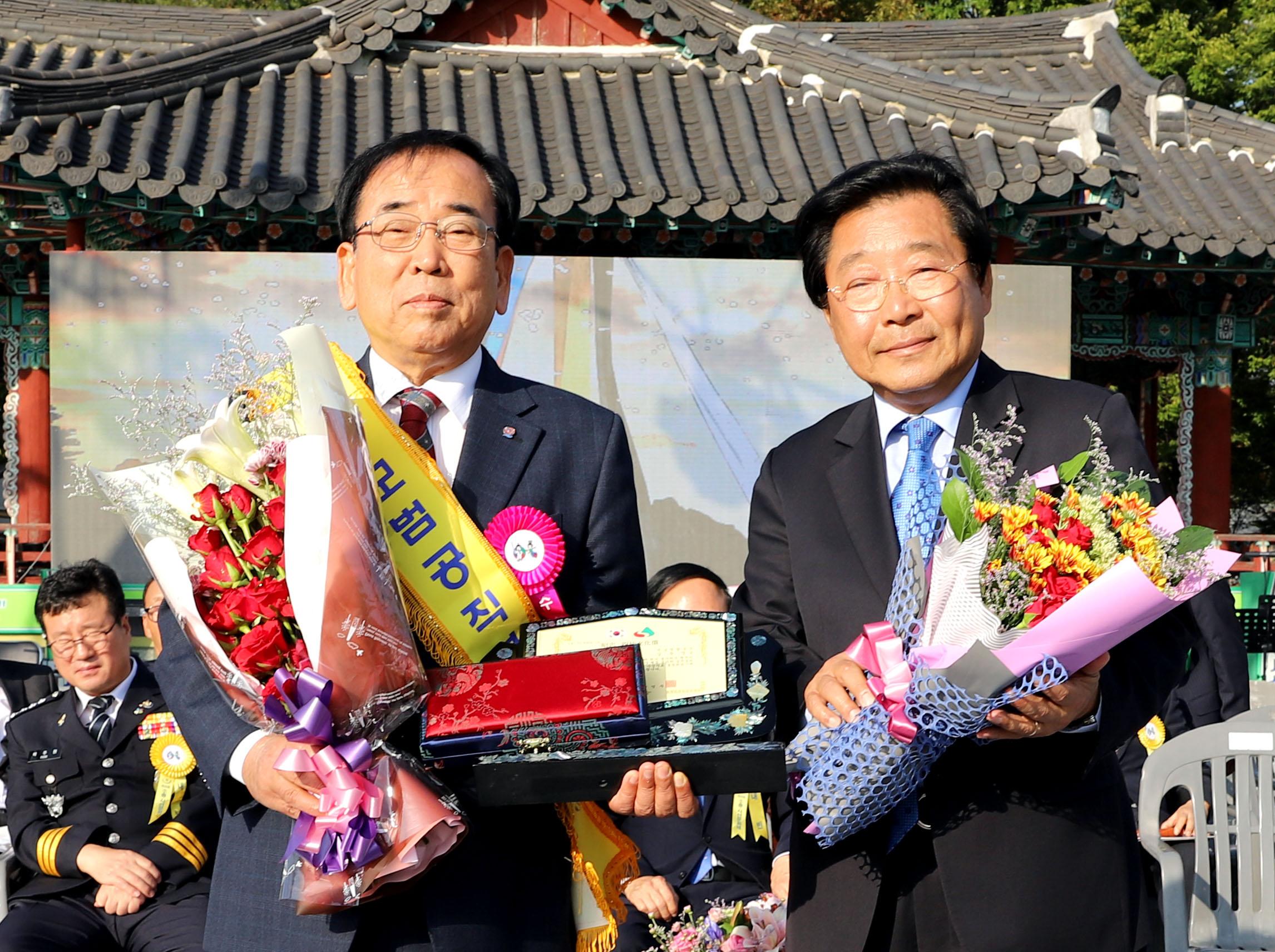 김준성 영광군수, 「제27회 소충·사선문화상」수상