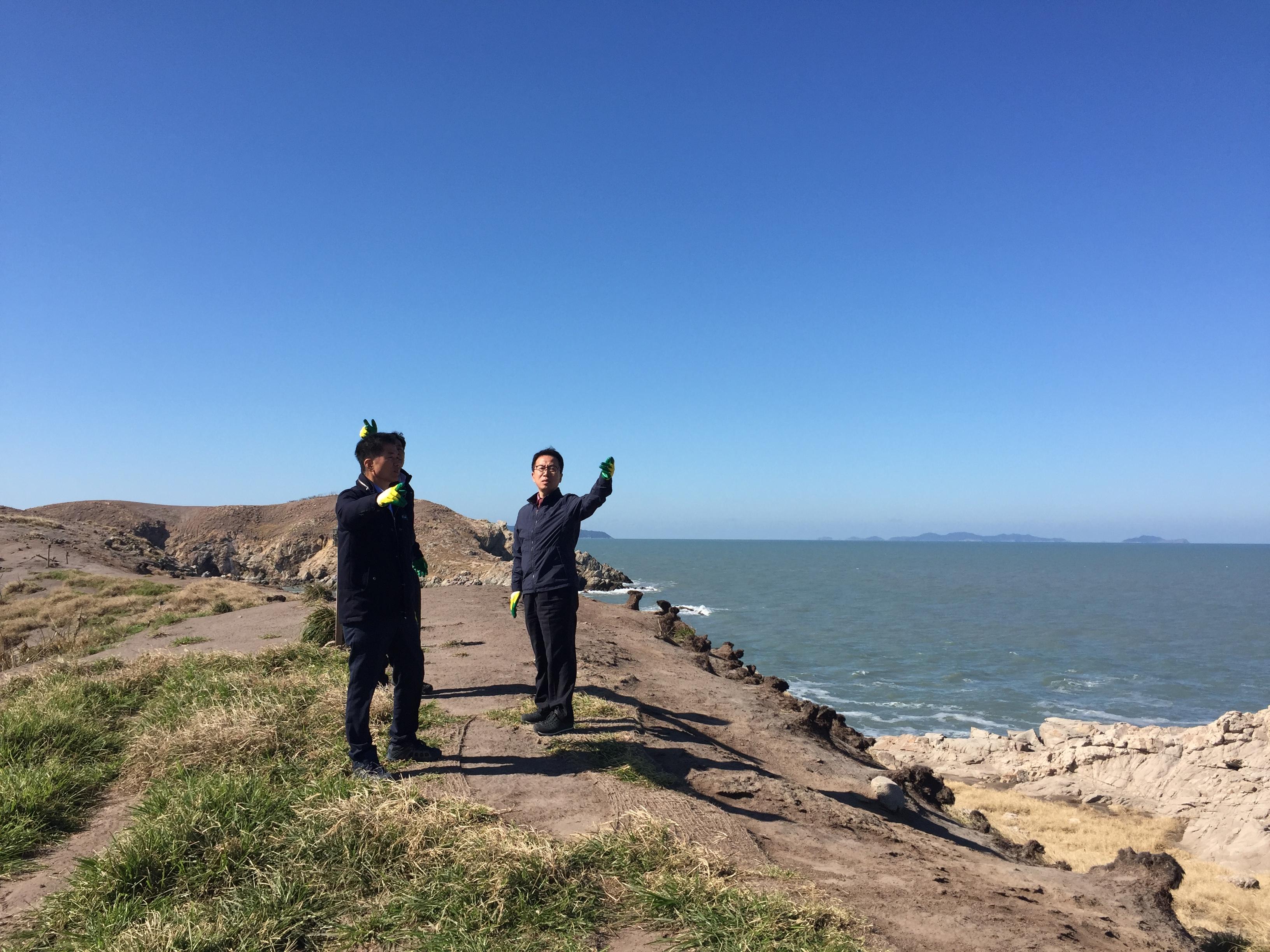 강영구 영광 부군수, 자연 생태계의 보고 육산도 시찰