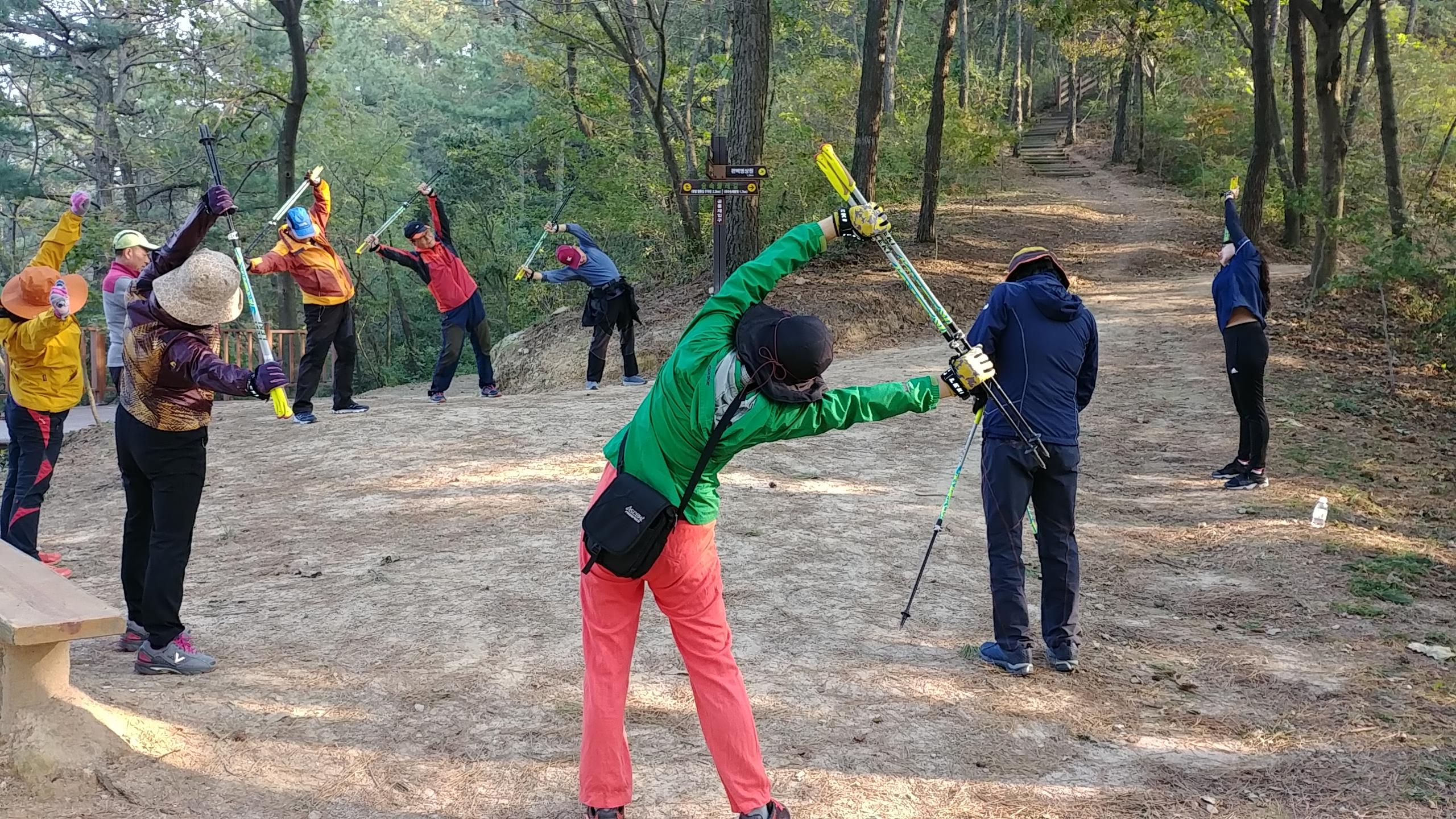 물무산 행복숲 『1530 노르딕 건강걷기』 성료