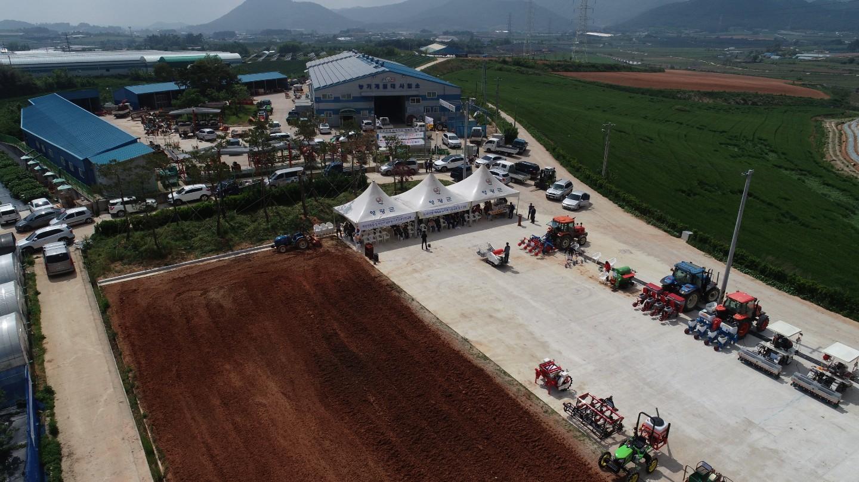 논 타작물 재배용 농기계 전시·연시회로 농가 고민 덜어!