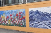 영광출신 김현우 화가, 벽화로 지역의 희망을 그리다