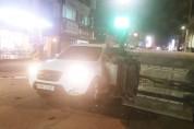 하루 사이에 교통사고 2건, 전매청 사거리 '주의'