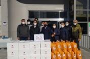 영광 복있는교회 '쌀 20kg 20포, 김치 26박스 기탁'