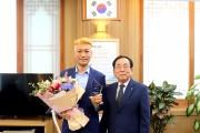 흥행보증 수표'영화배우 최귀화', 영광군 홍보대사 위촉