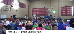 2019 홍농읍 효사랑 경로잔치 열려