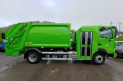영광군 한국형 청소차 구입 환경미화원 노동환경 개선