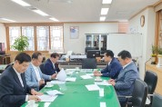 강필구 전국시군자치구의회의장협의회장 자치분권위원장과 면담