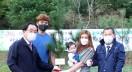 영광군, 2021년 신생아 탄생 기념 나무 우산공원에 식재