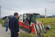 염산면, 수확기 영농현장 방문으로 다가가는 행정 실천