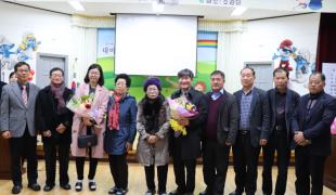 대마 남산마을 한글학교 할머니들의 특별한 졸업식