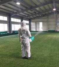 영광군, 코로나19 차단을 위한 체육시설 방역 총력