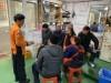 영광터미널시장 비상소화장치함 이용 화재진압훈련 실시