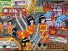 어린이 불조심 포스터 최우수상에 영광중앙초 임빛아름 수상