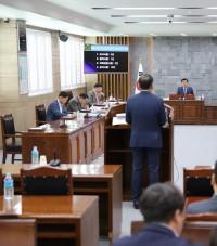 영광군의회 제10회 의원 간담회 개최