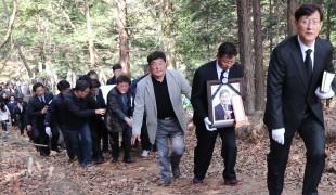 故 박영배 발인, 가족-동료들 배웅 속 영면에 들다