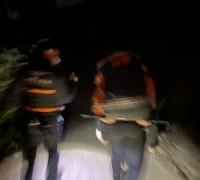영광소방서 119구조대, 물무산 길 잃은 90대 노인 2시간여 만에 구조